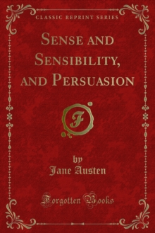 Sense and Sensibility, and Persuasion, PDF eBook
