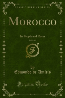 Morocco : Its People and Places, PDF eBook