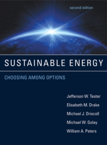 Sustainable Energy : Choosing Among Options, Hardback Book