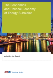 The Economics and Political Economy of Energy Subsidies, Hardback Book