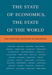 The State of Economics, the State of the World, Hardback Book