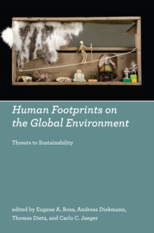 Human Footprints on the Global Environment : Threats to Sustainability, PDF eBook