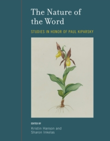The Nature of the Word : Studies in Honor of Paul Kiparsky, PDF eBook