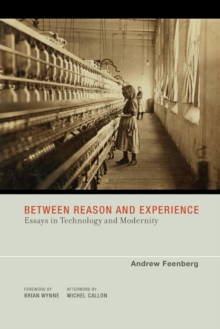 Between Reason and Experience : Essays in Technology and Modernity, Paperback / softback Book