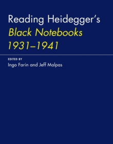 Reading Heidegger's Black Notebooks 1931-1941, Paperback / softback Book
