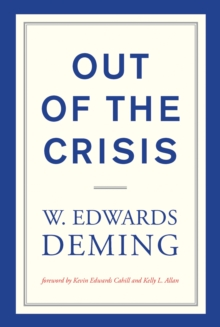 Out of the Crisis, Paperback / softback Book