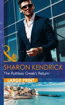 The Ruthless Greek's Return, Hardback Book