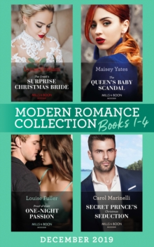 Modern Romance December 2019 Books 1-4, Paperback Book