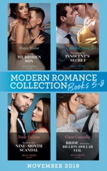 Modern Romance November 2019 Books 5-8, SE Book