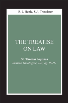 Treatise on Law, The : (Summa Theologiae, I-II; qq. 90-97), EPUB eBook