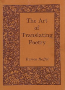 The Art of Translating Poetry, EPUB eBook