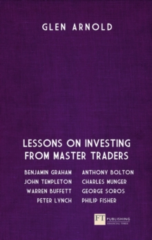 The Great Investors : Lessons on Investing from Master Traders, Paperback / softback Book