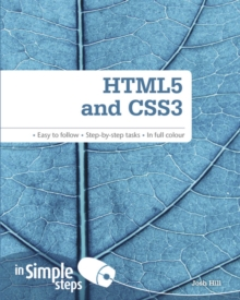 HTML5 and CSS3 In Simple Steps, Paperback / softback Book