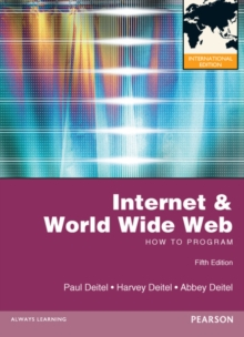 Internet and World Wide Web How to Program : International Edition, Mixed media product Book