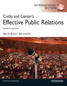 Cutlip and Center's Effective Public Relations: International Edition, Paperback / softback Book