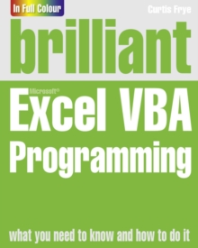Brilliant Excel VBA Programming, Paperback / softback Book