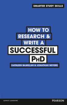 How to Research & Write a Successful PhD, Paperback / softback Book
