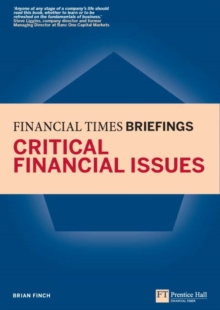 Critical Financial Issues: Financial Times Briefing : The low down on the top job, EPUB eBook