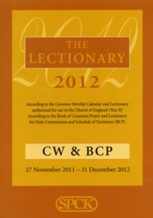 The Lectionary 2012 : Common Worship and Book of Common Prayer, Paperback Book