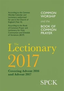 Common Worship Lectionary 2017, Paperback Book