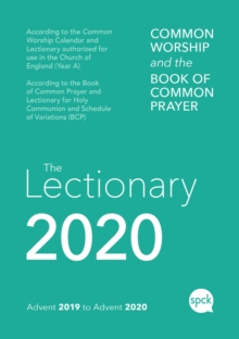 Common Worship Lectionary 2020, Paperback / softback Book