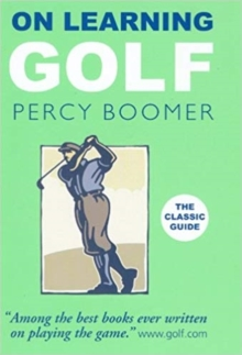 On Learning Golf, Paperback Book