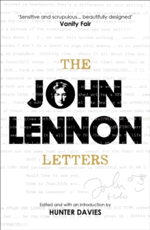 The John Lennon Letters : Edited and with an Introduction by Hunter Davies, EPUB eBook