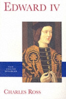 Edward IV, Paperback / softback Book