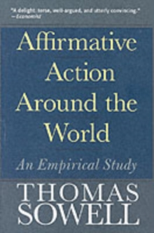 Affirmative Action Around the World : An Empirical Study, Paperback / softback Book