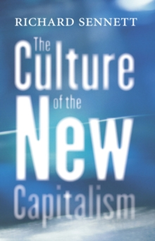 The Culture of the New Capitalism, EPUB eBook