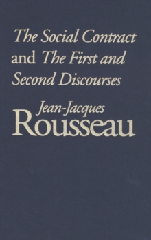 The Social Contract and The First and Second Discourses, PDF eBook