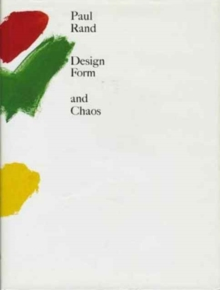 Design, Form, and Chaos, Hardback Book