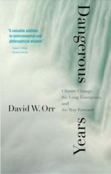 Dangerous Years : Climate Change, the Long Emergency, and the Way Forward, Paperback / softback Book