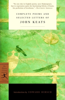 Complete Poems and Selected Letters of John Keats, EPUB eBook