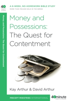 Money and Possessions : The Quest for Contentment, EPUB eBook