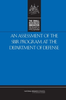 An Assessment of the SBIR Program at the Department of Defense, EPUB eBook