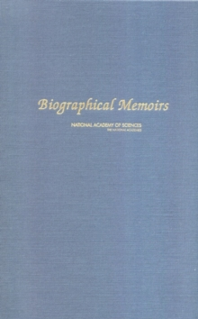 Biographical Memoirs : Volume 90, EPUB eBook