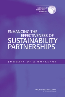 Enhancing the Effectiveness of Sustainability Partnerships : Summary of a Workshop, EPUB eBook