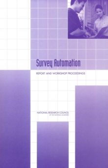 Survey Automation : Report and Workshop Proceedings, EPUB eBook