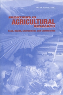 Frontiers in Agricultural Research : Food, Health, Environment, and Communities, EPUB eBook