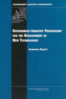 Government-Industry Partnerships for the Development of New Technologies, EPUB eBook
