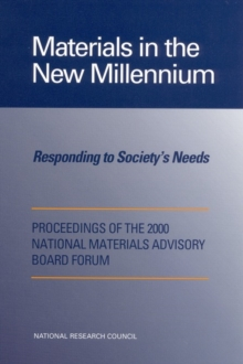 Materials in the New Millennium : Responding to Society's Needs, EPUB eBook