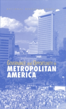 Governance and Opportunity in Metropolitan America, EPUB eBook