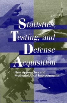 Statistics, Testing, and Defense Acquisition : New Approaches and Methodological Improvements, EPUB eBook