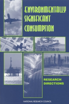 Environmentally Significant Consumption : Research Directions, EPUB eBook