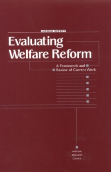 Evaluating Welfare Reform : A Framework and Review of Current Work, Interim Report, EPUB eBook