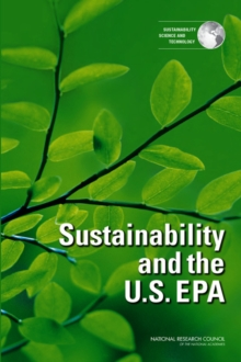 Sustainability and the U.S. EPA, EPUB eBook