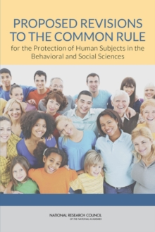 Proposed Revisions to the Common Rule for the Protection of Human Subjects in the Behavioral and Social Sciences, EPUB eBook