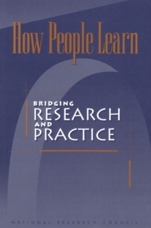 How People Learn : Bridging Research and Practice, PDF eBook