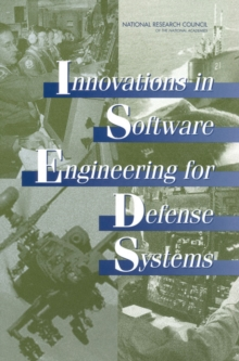 Innovations in Software Engineering for Defense Systems, PDF eBook